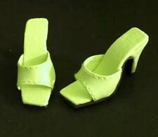 """Shoes Sandals for 16"""" Tyler Gene Sydney Dolls Slip-on Kingstate Apple Green New"""