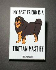Tibetan Mastiff Magnet Handmade Dog Gifts Kitchen Refrigerator and Locker Decor