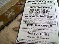 67-6 ephemera 1964 advert dreamland margate fortunes dane and the diamonds