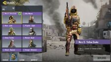 Call Of Duty Mobile Account With Tons Of Skins