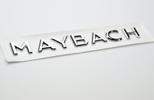 Mercedes Benz Maybach Letters Trunk Emblem Badge Sticker 1 PCS
