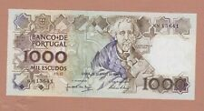 More details for p181b portugal 1000 escudos banknote 1986 in mint condition