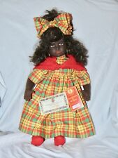 Lenci Collectible 1994 Naomi Caribbean Doll With Tags Number 954244