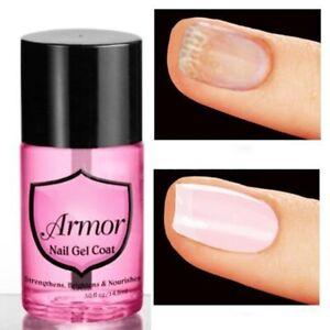 Pink Armor Nail Gel Growth Formula Treatments Nail Coat Calcium Nail Polish Oil