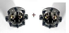 Satz 2x MAZDA 2 3 5 323 H7 Adapter Scheinwerfer Lampe Licht Leuchte Fassung