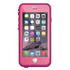 LifeProof FRE iPhone 6 ONLY Waterproof Case POWER PINK (LIGHT ROSE/DARK ROSE)