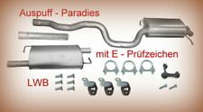 Abgasanlage Auspuff für VW T5  2.0 TDi/BiTDi 4motion Bus / Kasten (LWB) + Kit