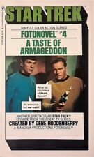 Star Trek Fotonovel #04 A Taste of Armageddon - PB 1st EDITION - EXCELLENT