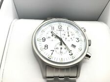 Mens Wristwatch TIMEX MK1 TW2R68900 Chrono Aluminium White