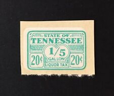 Tennessee State Revenue, 20 cents, #L19 Liquor Tax - MNH - sound - TN