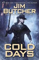Cold Days: A Novel of the Dresden Files by Jim Butcher NEW Hardcover FREE SHIP
