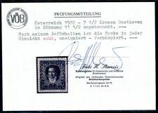 ÖSTERREICH 1922 420B * weite ZÄHNUNG TADELLOS BEFUND STURZEIS 180€(C1954