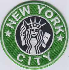 "50 Pcs Statue in NEW YORK CITY Embroidered Patches 3"" Dia. Special Price."