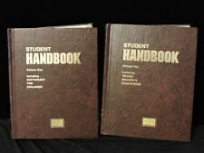 Student Handbook Two Volumes New One Lot Of 2