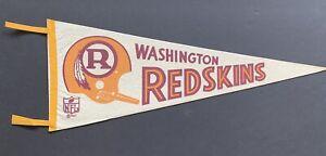 1970-71 Washington Redskins Full Size Pennant - Nice
