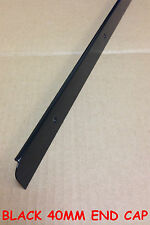 Kitchen Worktop Edging Trim BLACK END CAP 40mm with screws *BRAND NEW* *CHEAP*