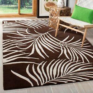 Geometric Transitional Oriental Area Rug Hand-tufted Wool Home Decor 8x10 Carpet
