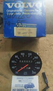Genuine OEM # 1259757  Speedometer Gauge For Volvo 240 , 260  1979 - 85  NOS