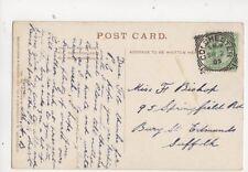 Miss Flo Bishop Springfield Road Bury St Edmunds 1905 297b