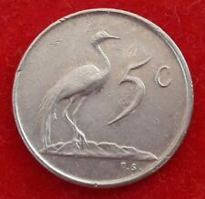 South Africa, 5 Cents, 1974 , Nickel, KM:84 (RC1) Afrique du sud