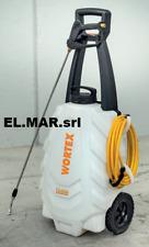 Pompa Trolley Elettrica 18V batteria al LITIO 2,2 Ah 30 litri irrorazione 4 BAR