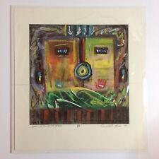 Original Ronald A. Chee Pastel Art - Yeii Yellow Jacket People - 1/1 SIGNED