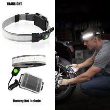 3 Modes LED Headlamp Strap Waterproof Head Band Stream Head Light Torch Running