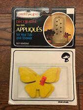 Vintage DS Butterfly Non-skid Bathtub Appliques