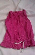 Girls' Cotton Sleeveless T-Shirts, Top & Shirts (2-16 Years)