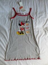 Disney Girls Grey Minnie Mouse Vest Top Size 8 Years