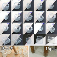 16pcs Silicone Table Cover Chair Leg Cap Furniture Feet Pads Floor Protectors