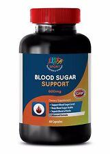 Glucose Control Pills - Blood Sugar Support 600mg - Cayenne Supplements 1B