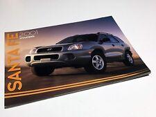 2001 Hyundai Santa Fe Launch Preview Brochure