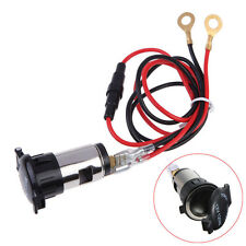 12V 120W Universal Car Boat Tractor Cigarette Lighter Power Socket Outlet Plug