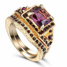 SIZE:7 _  GOLD _ RHODIUM  _ PLATED  ~ DRESS ~ RING  --- (GREAT_CHRISTMAS_GIFT)