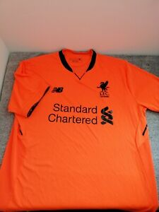 Liverpool Away Shirt 2017/18 (125 years) Adults Size Large FIRMINO #9