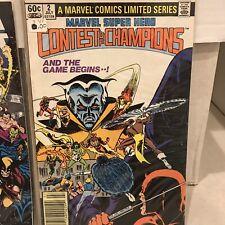 Marvel Super-Hero Contest of Champions #2 (Jul 1982, Marvel)