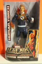 """Marvel legends:Icon series(12"""") HUMAN TORCH FLAME ON  MIP"""