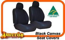 Mid Black Canvas Seat Covers for Landcruiser FJ Cruiser 11on