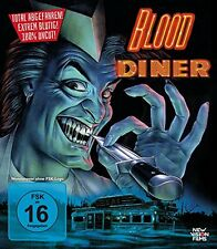 BLOOD DINER (Uncut) 1987 Rick Burks -  Blu Ray - Sealed Region B