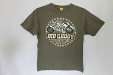 Snoopy Big Daddy The Original Motorcycle Graphic T-Shirt Size Small
