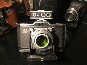 Zeiss Ikon Ikonta (522/24) Camera f/3.5 Lens Anastigmat green filter Combi Meter