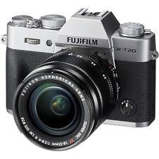 Fujifilm X-T20 24.3MP appareil photo 4K Argent + XF 18-55 Mm Ois Fuji Lens (UK)