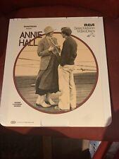 New ListingCed Videodisc Annie Hall Diane Keaton Woody Allen Tony Roberts Selectavision