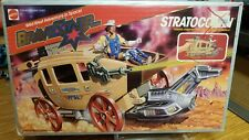 BRAVESTARR STRATOCOACH 1986 MATTEL SEALED CONTENTS IN BOX EXCELLENT
