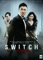 Switch (DVD, 2013, Bilingual) Andy Lau, Zhang Jingchu, Chiling Lin