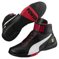 PUMA Scuderia Ferrari Kart Cat Mid III Hi Top Shoes Men Mid Boot Auto
