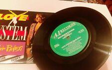 "Maurizio Pavesi 7"" vinyl single record Love System UK A1314 A1 1989"