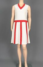AUTHENTIC 1970'S TENNIS INSPIRED VINTAGE DRESS SIZE SMALL SPORT-STYLE DRESS