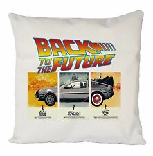 BACK TO THE FUTURE POSTER CUSHION COVER PILLOW CASE FASHION IDEAL GIFT PRESENT